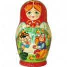 Visiting Fairytales Matryoshka: The Speckled Hen