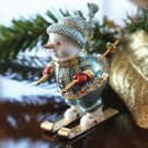 Faberge Traditions: Snowman on Skis