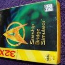 Star trek Starfleet Academy Starship bridge simulator Genesis 32x