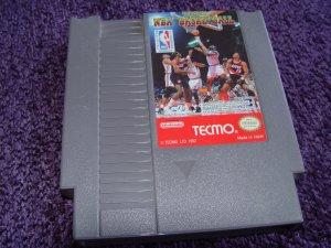 Tecmo NBA Basketball Nintendo NES game