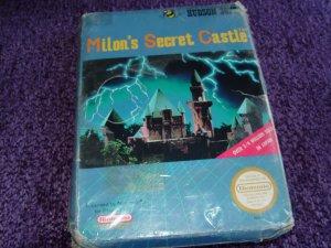 Milon's Secrect Castle Nintendo NES game New