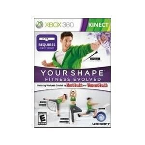 Your Shape Fitness Evolved xbox 360 video game