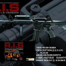 3081A M16 Style M4A1 with Laser and Light