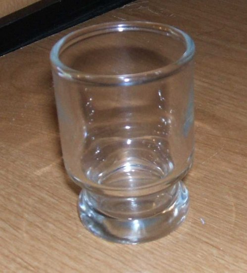 Clear Shot Glass... Great Bar Ware!!  w/ FREE SHIPPING!