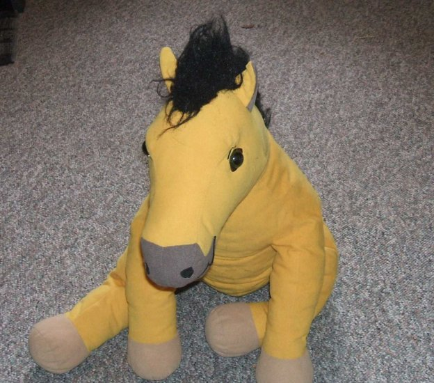 Stuffed Plush Spirit Of The Cimarron Horse Doll Dreamworks Teddy Bear