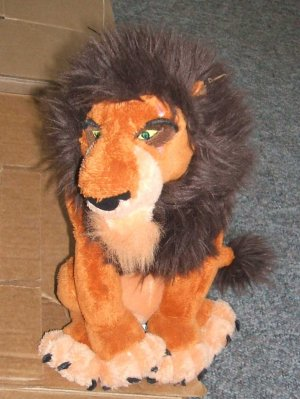 "Disney Lion King Collectible ""The Lion King"" Simba 10"""