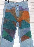 Denim Jeans Suede Patchwork Don't Stop Size 11 / 12 Juniors ...