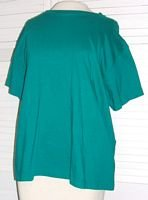 Teal Green T Shirt Cherokee Size L Large...