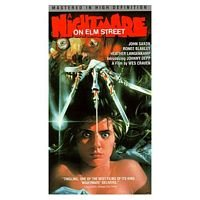 A Nightmare On Elm Street VHS Edition 1987 Media Horror Video