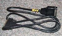 Serial to Parallel Printer Cable Vintage Grey
