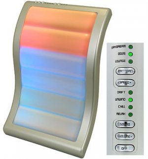 Mood Wave 100 Colors Motion Light by homemedics