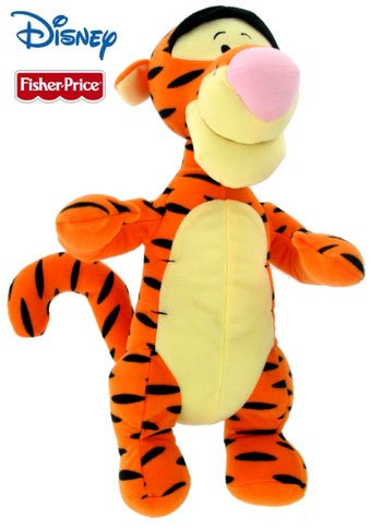 "13"" Stuffed Plush Tigger by Fisher Price"