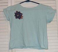 Mint Green  T Shirt by The Gap Size L Large