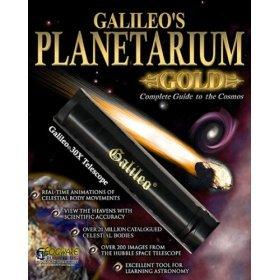 Galileo Planetarium Gold Deluxe CD Software