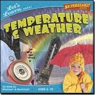Let's Learn About Temperature & Weather CD Software