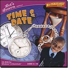 Let's Learn About Time & Date Software CD