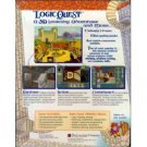Logic Quest CD Software- Ages 8 - 14
