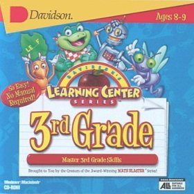 Davidson's Learning Center Series for the Third 3rd Grade CD