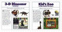 Kid's Zoo & 3-D Dinosaur Adventure CD