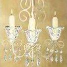 Shabby Elegance Scrollwork Candleholder