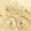 Graceful Swirl Wall Sconce