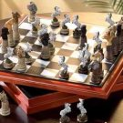 African Animal Chess Set