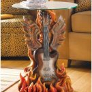 Rock n Roll Guitar Accent Table