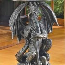 Guardian Dragon Accent Table