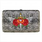 Sacred Rose Tattoo Hinge Wallet
