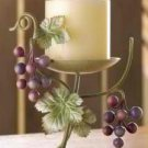 Grapevine Pillar Candle Stands set of 2