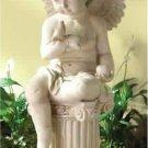 Charming Cherub Garden Statue
