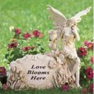 Love Blooms Here Garden Stone