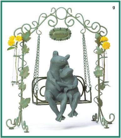 Loving Frogs on Swing
