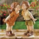 Our First Kiss Garden Statues