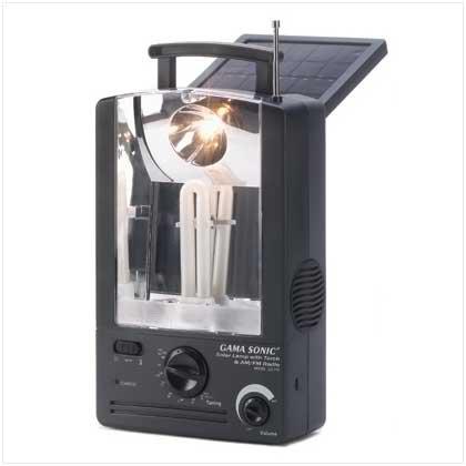 Solar Radio Lantern Combo