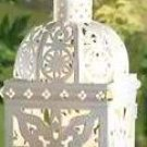 White Medallion Lantern