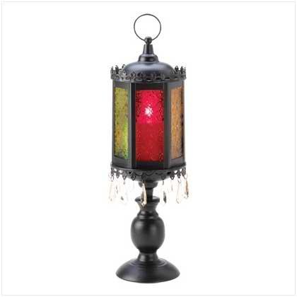 Exotic Pedestal Lantern