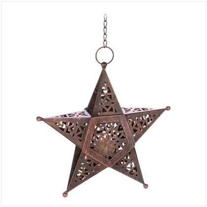 Desert Star Candle Lantern