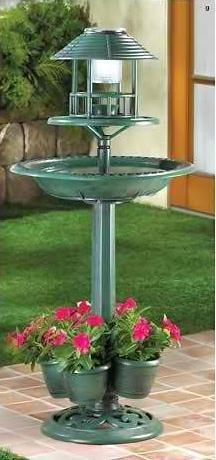Verdigris Garden Centerpiece