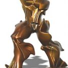 "FUTURISTIC MAN 8"" MODERN ART STATUE SCULPTURE UMBERTO BOCCIONI BRONZE FINISH NEW"
