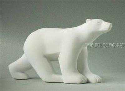 Polar Bear MINI SCULPTURE STATUE POCKET ART Francois Pompon French France Art