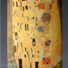 "Silhouette d'Art Ceramic MUSEUM VASE ""THE KISS by GUSTAV KLIMT"" German Beswick"