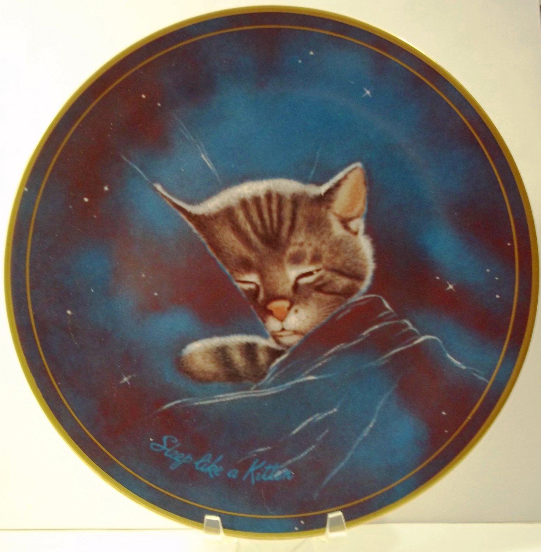 Starlight Chessie Cat Kitten C & O Railroad Mascot B & O 50th Collector Plate Chesapeake Railroad