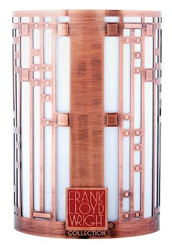 FRANK LLOYD WRIGHT STARS & MOONBEAMS ROBIE HOUSE VOTIVE CANDLE HOLDER GIFT SET