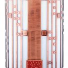FRANK LLOYD WRIGHT STARS & MOONBEAMS ROBIE HOUSE VOTIVE CANDLE HOLDER GIFT SET