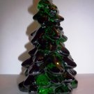 "Mosser Glass EMERALD GREEN 5.5"" CHRISTMAS TREE Figurine HOLIDAY DECORATION"