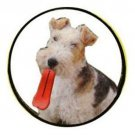 Humunga Tongue Rubber Pet Dog Toy Fetch Ball Medium Junior