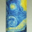 Van Gogh STARRY NIGHT Ceramic Cylinder CANDLE HOLDER TEALIGHT Dutch Artist