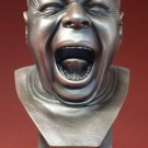 Yawner Man Portrait Bust Mini Pocket Art Statue Sculpture Messerschmidt German