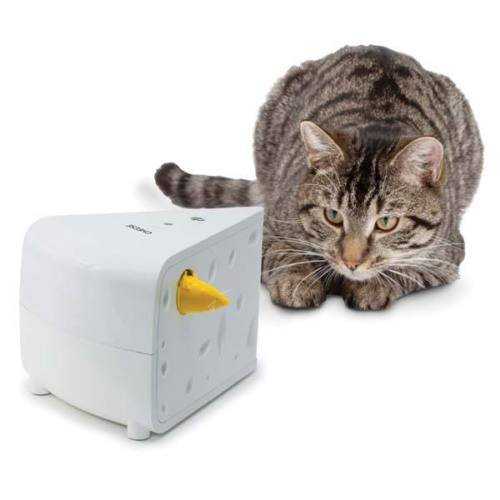 PetSafe® Cheese Cat Toy Interactive Hide and Seek Mice Hands Free Automatic
